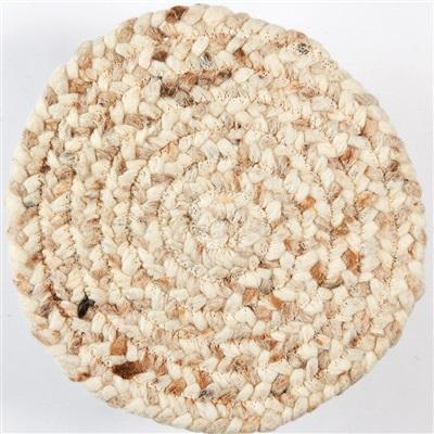 Brinker Carpets Step Rondo 8004 Beige, Ivory