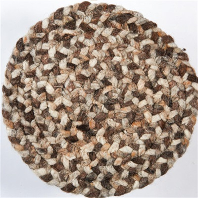 Brinker Carpets Step Rondo 8015 Beige, Bruin, Creme