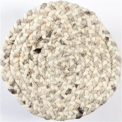 Brinker Carpets Step Rondo 8806 Grijs, Ivory, Taupe