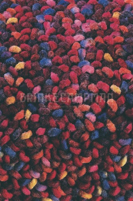Brink & Campman Stone-18800 Camel, Multicolor, Paars, Rood, Roze