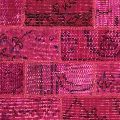 Brinker Carpets Vintage Fuchsia Rood, Roze